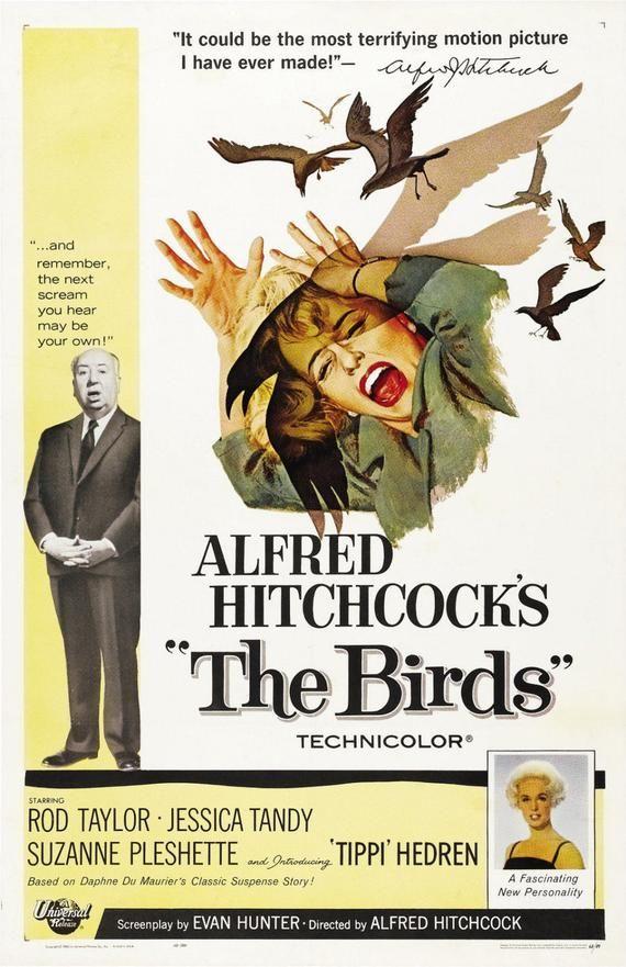 鳥_The Birds_電影海報