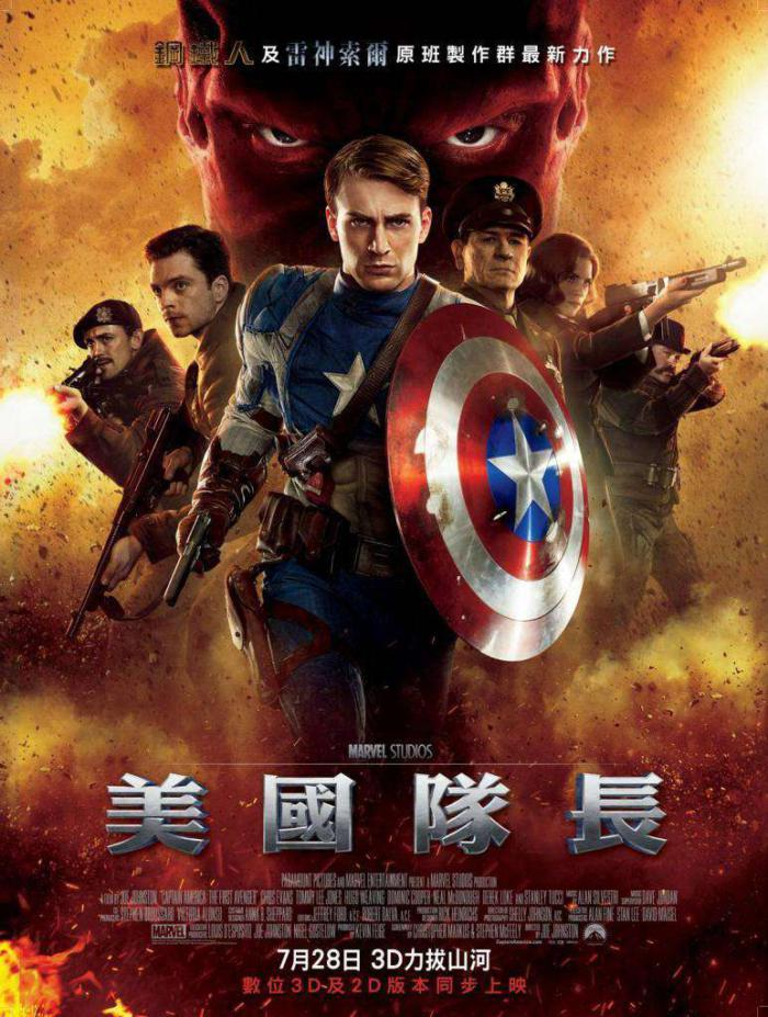 美國隊長_Captain America: The First Avenger_電影海報