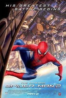 蜘蛛人驚奇再起2: 電光之戰_The Amazing Spider-Man 2_電影海報