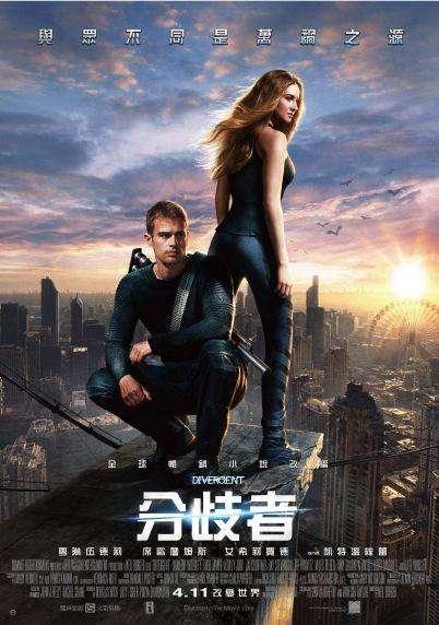 分歧者_Divergent_電影海報