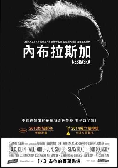 內布拉斯加_Nebraska_電影海報