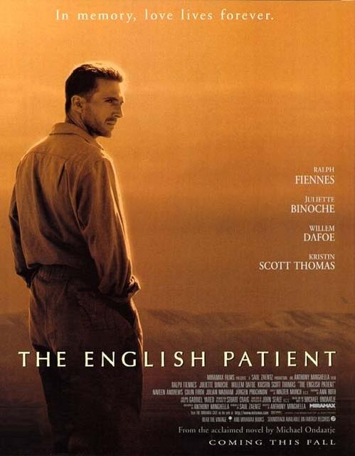 英倫情人_The English Patient_電影海報