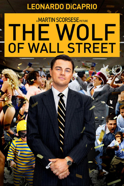 華爾街之狼_The Wolf of Wall Street_電影海報