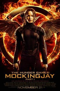 飢餓遊戲:自由幻夢I_The Hunger Games: Mockingjay - Part 1_電影海報