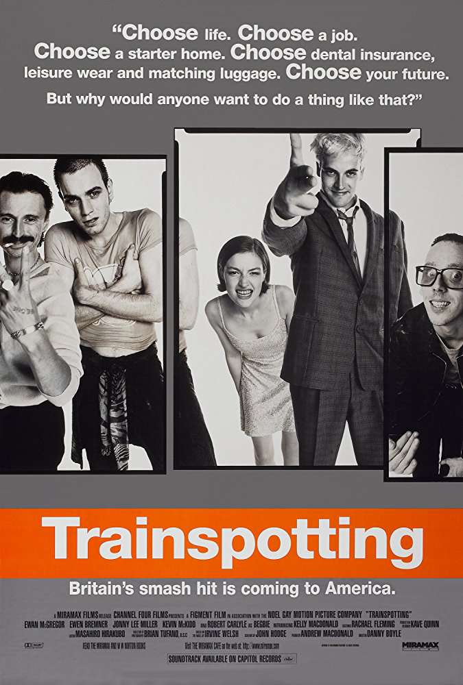 猜火車_Trainspotting_電影海報