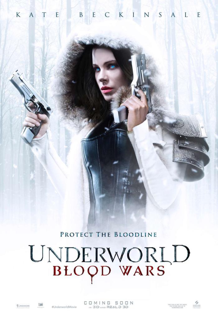 決戰異世界:弒血之戰_Underworld 5_電影海報