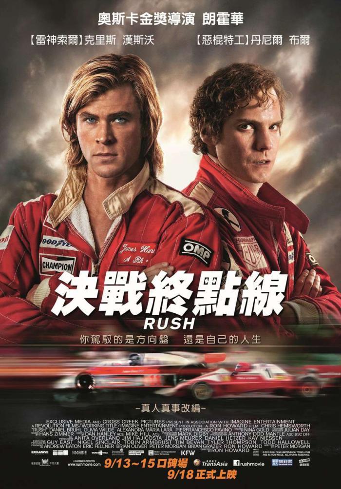 決戰終點線_Rush(2013)_電影海報