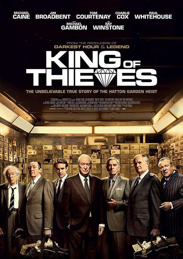 盜王之王_King of Thieves_電影海報