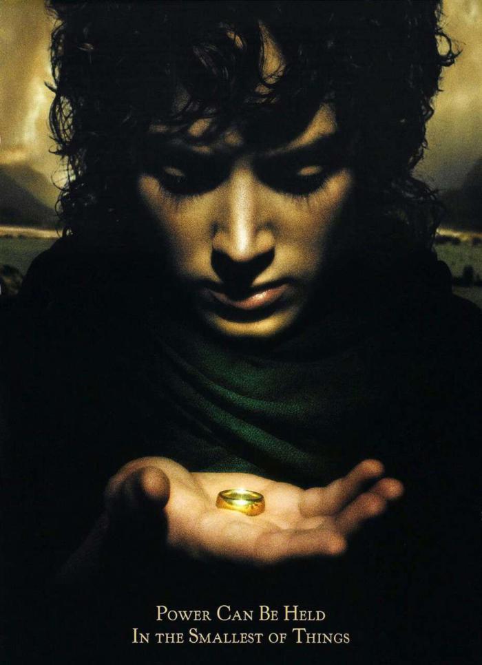魔戒首部曲:魔戒現身_The Lord of the Rings:The Fellowship of the Ring_電影海報