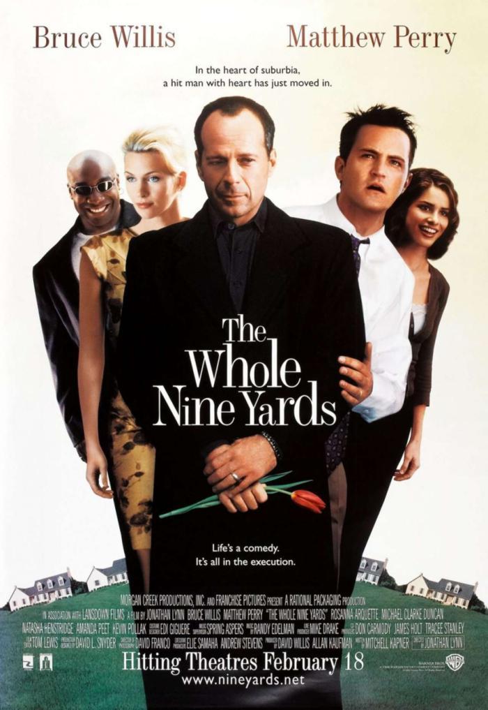 殺手不眨眼_The Whole Nine Yards_電影海報