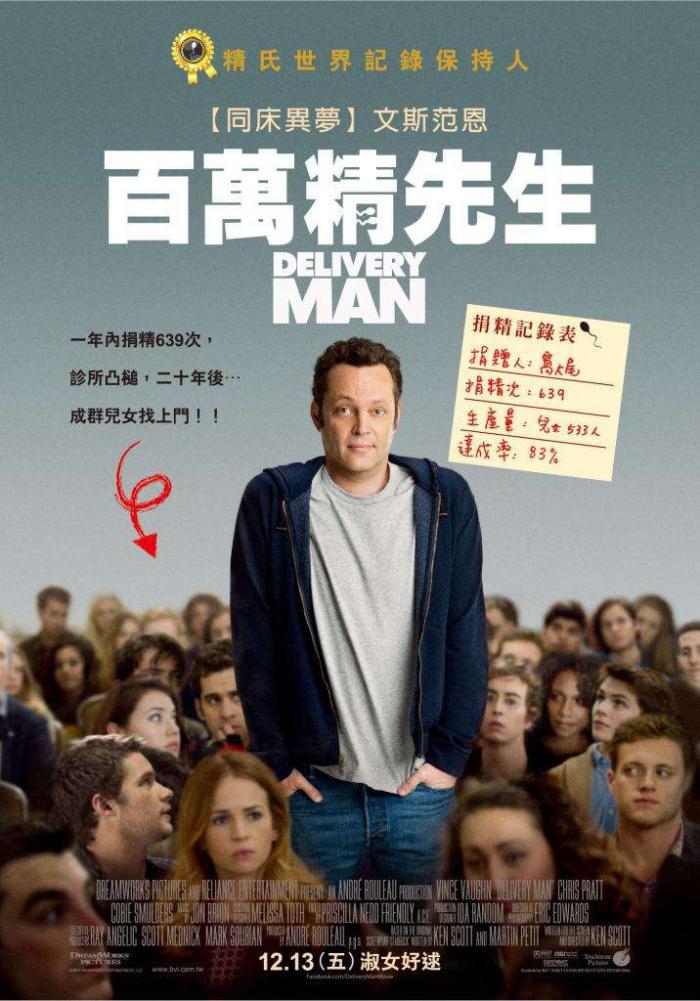 百萬精先生_Delivery Man_電影海報
