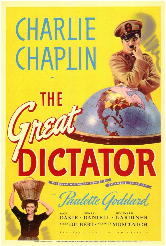 大獨裁者_The Great Dictator_電影海報