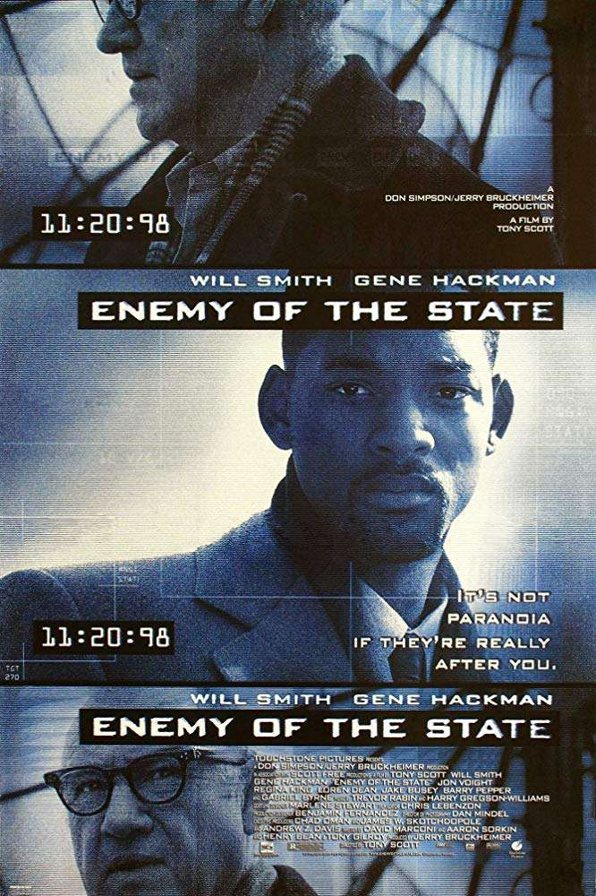全民公敵_Enemy of the State_電影海報