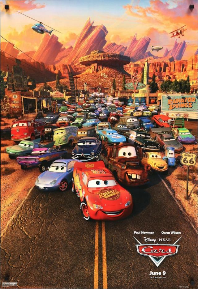 汽車總動員_Cars_電影海報