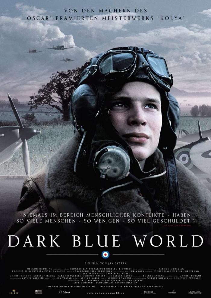 烈日長紅_Dark Blue World_電影海報