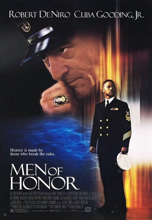 怒海潛將_Men of Honor_電影海報