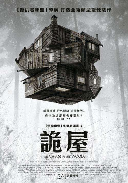 詭屋_The Cabin in the Woods_電影海報