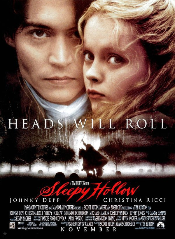 斷頭谷_Sleepy Hollow_電影海報