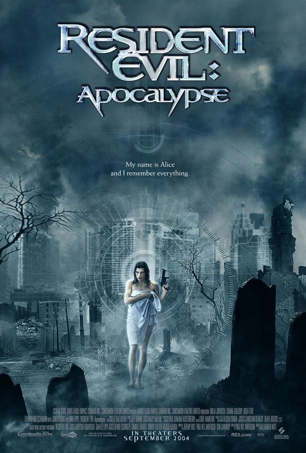 惡靈古堡2:啟示錄_Resident Evil:Apocalypse_電影海報