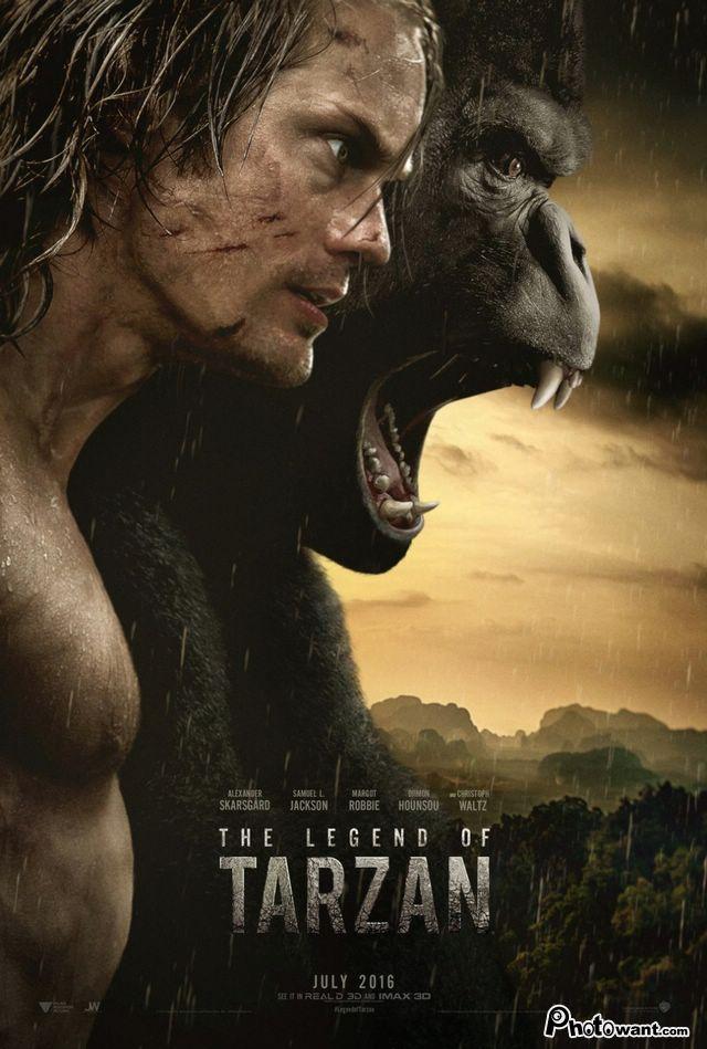 泰山傳奇_The Legend of Tarzan_電影海報