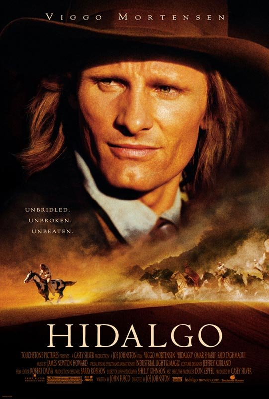 沙漠騎兵_Hidalgo_電影海報