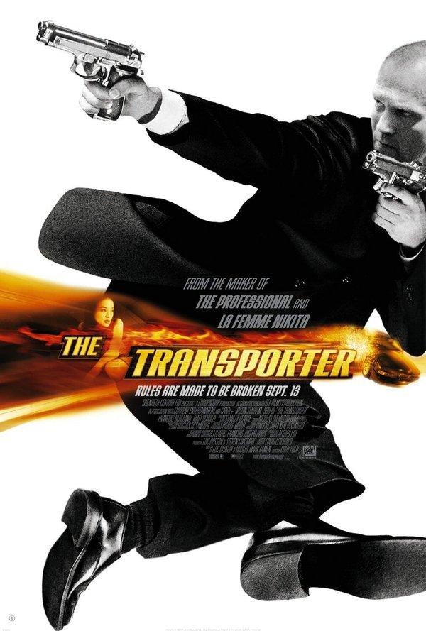 玩命快遞_The Transporter_電影海報
