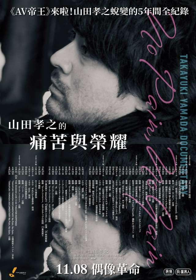 山田孝之的痛苦與榮耀_Takayuki Yamada Documentary: No Pain, No Gain_電影海報