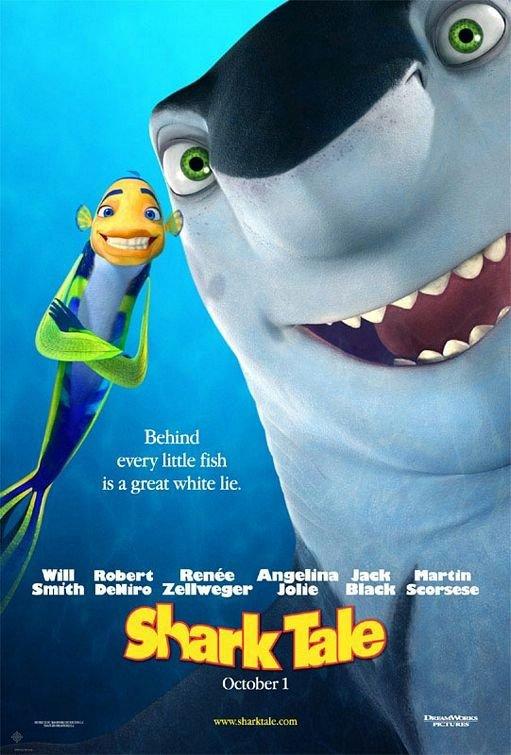 鯊魚黑幫_Shark Tale_電影海報
