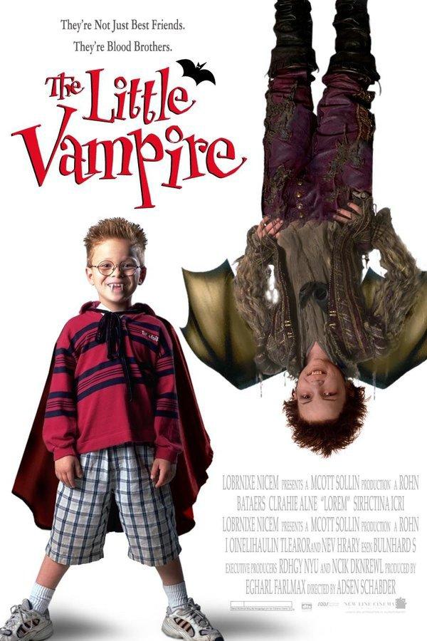 魔法吸血鬼_The Little Vampire_電影海報