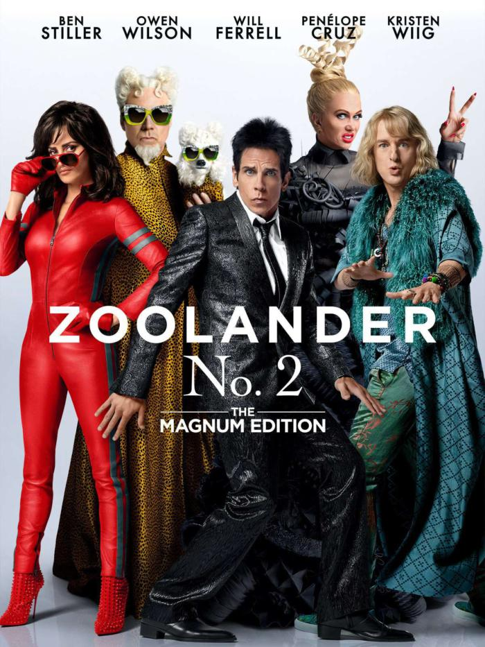 名模大間諜2_Zoolander 2_電影海報
