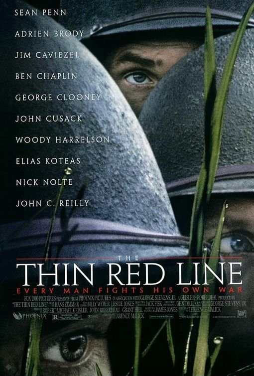 紅色警戒_The Thin Red Line_電影海報