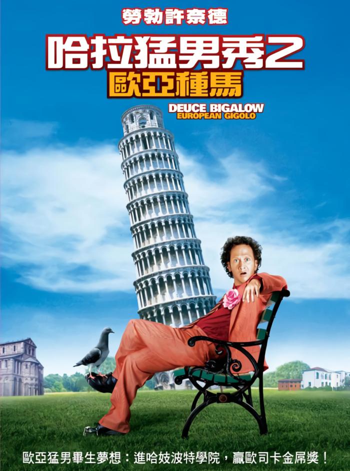 哈拉猛男秀2:歐亞種馬_Deuce Bigalow : European Gigolo_電影海報