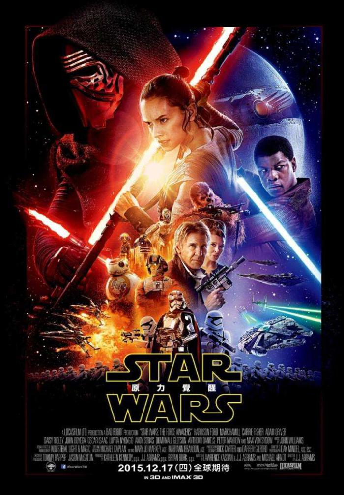 STAR WARS:原力覺醒_Star Wars: The Force Awakens_電影海報