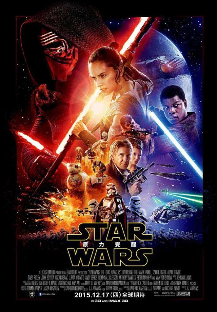 STAR WARS:原力覺醒_Star Wars: The Force Awakens_電影海報