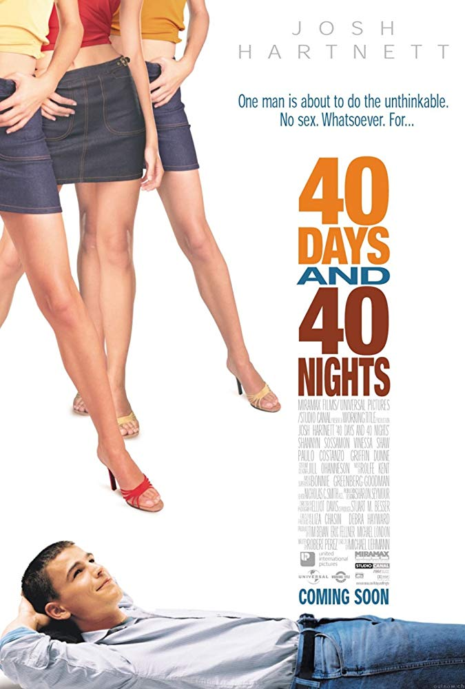 停機四十天_40 Days And 40 Nights_電影海報
