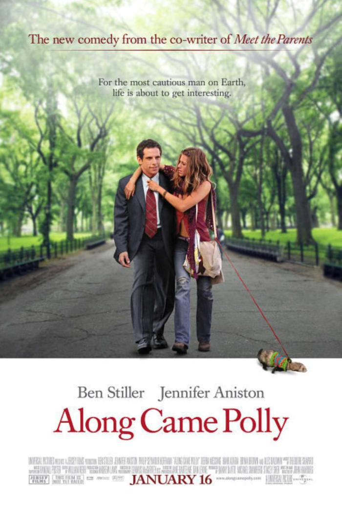遇上波莉_Along Came Polly_電影海報