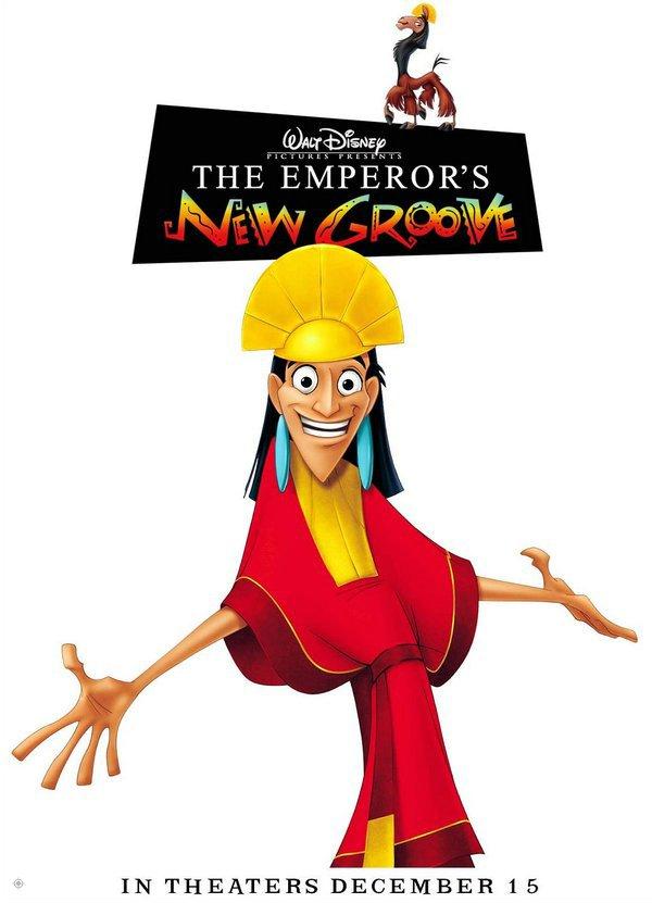 變身國王_The Emperor's New Groove_電影海報