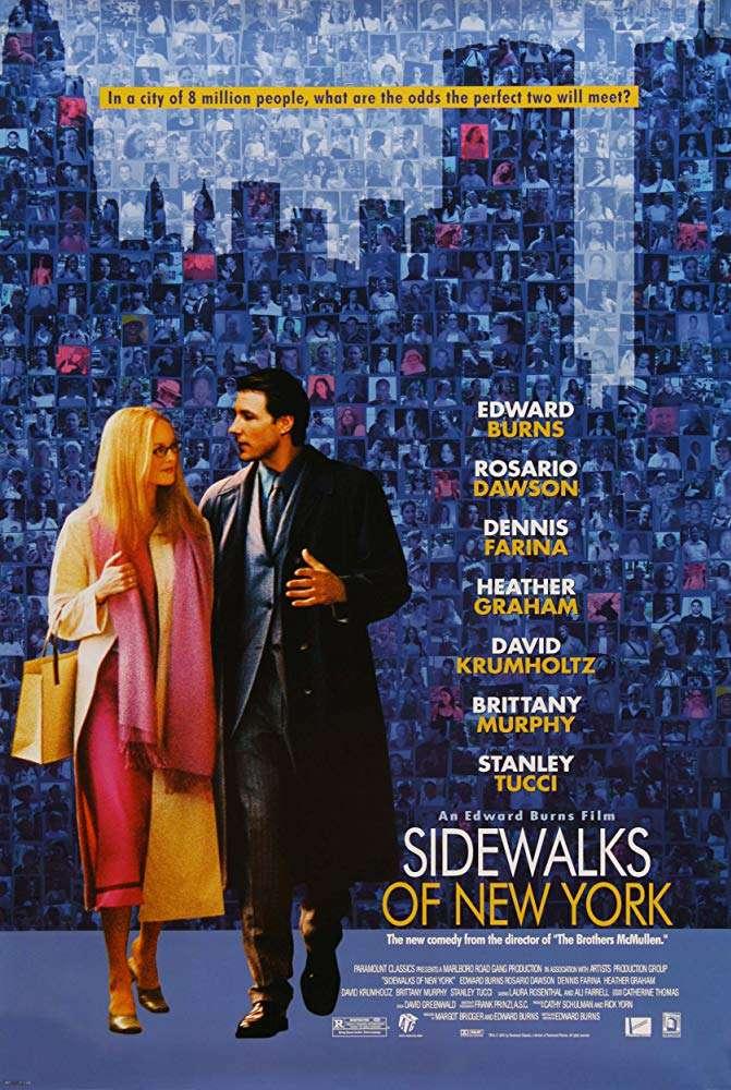 出情致勝_Sidewalks of New York_電影海報