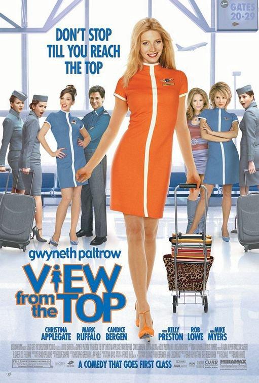 我要飛上天_View from the Top_電影海報