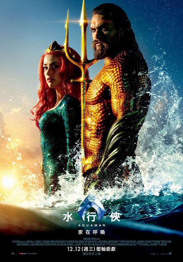 水行俠_Aquaman_電影海報