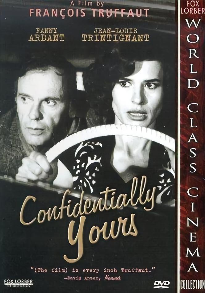 情殺案中案_Confidentially Yours_電影海報