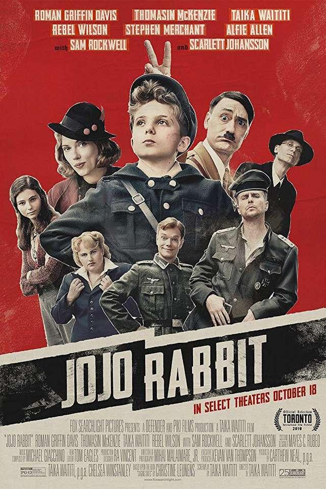 兔嘲男孩_Jojo Rabbit_電影海報