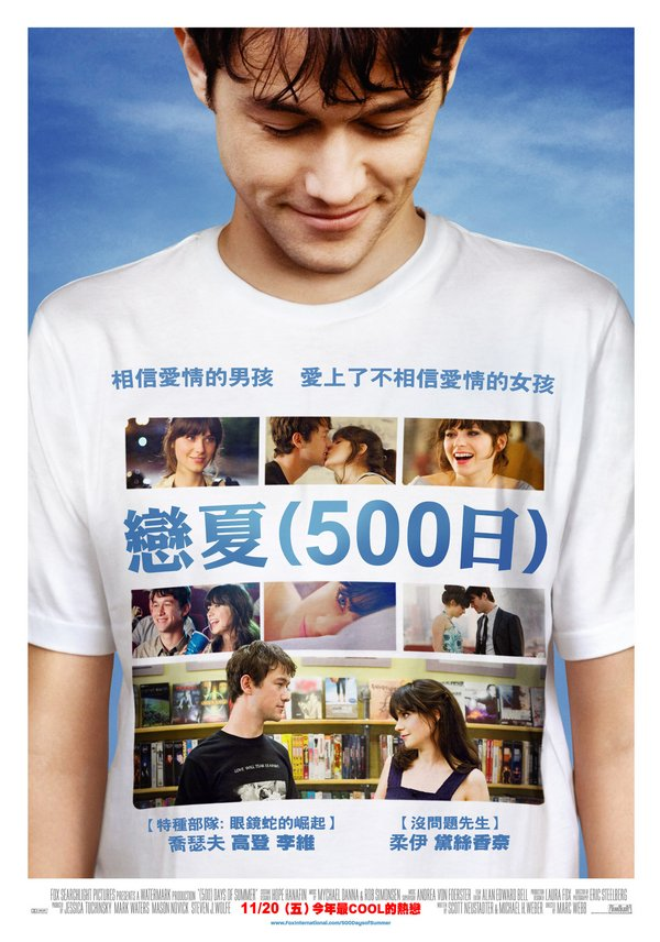 戀夏500日_500 Days of Summer_電影海報