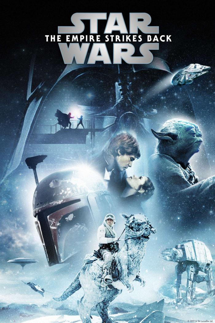 星際大戰五部曲:帝國大反擊_Star Wars Episode V: The Empire Strikes Back_電影海報