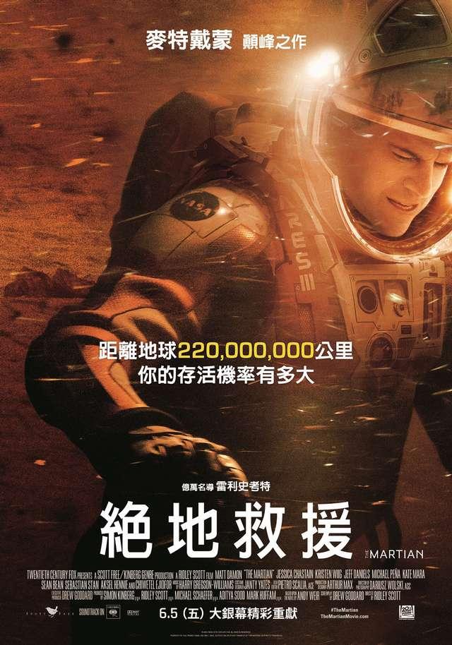 絕地救援_The Martian_電影海報