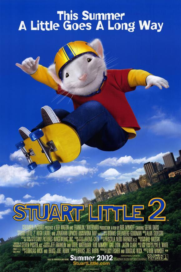 一家之鼠2_Stuart Little 2_電影海報