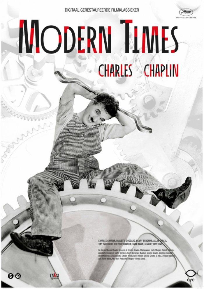 摩登時代_Modern Times_電影海報