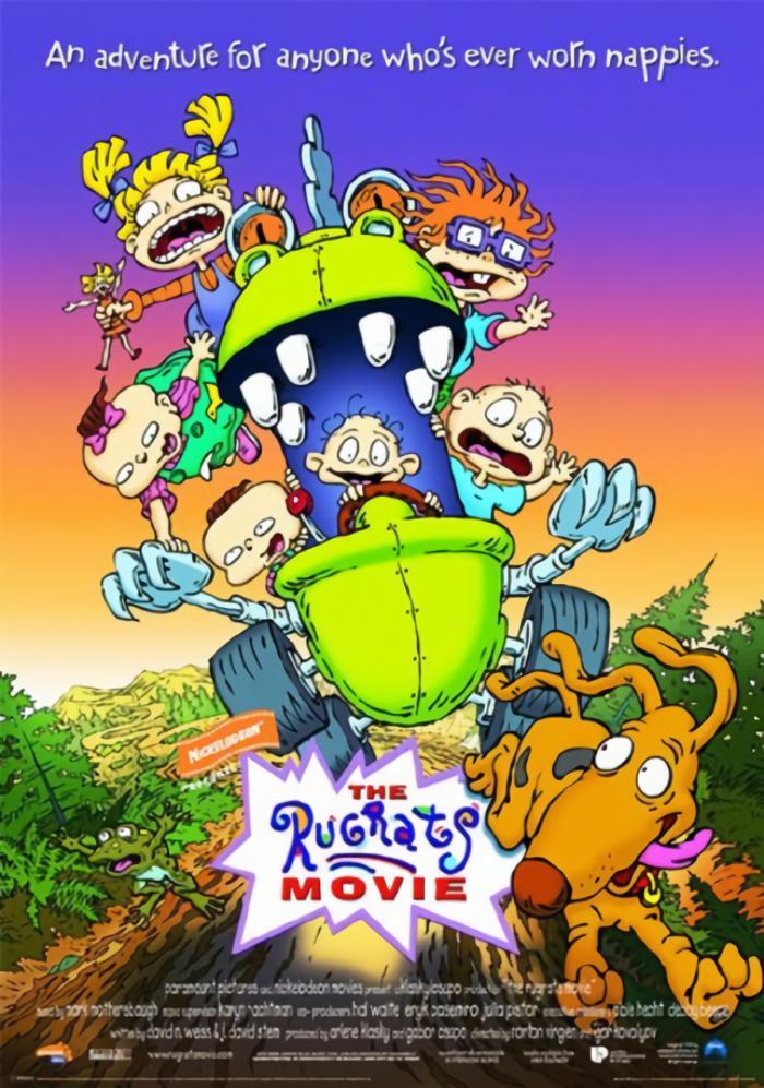 淘氣小兵兵_The Rugrats Movie_電影海報