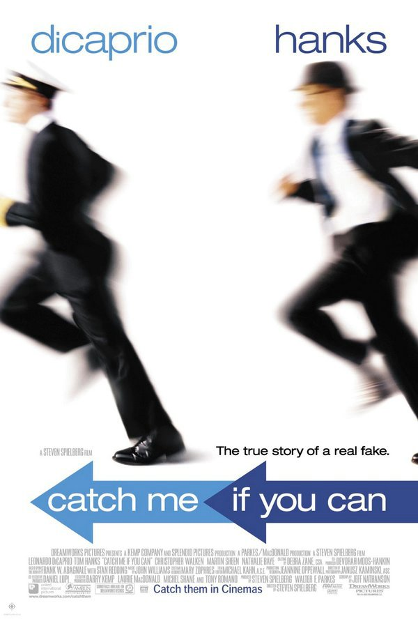 神鬼交鋒_Catch Me If You Can_電影海報