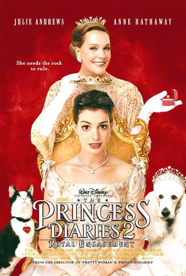 麻雀變公主2:皇家有約_The Princess Diaries 2: Royal Engagement_電影海報